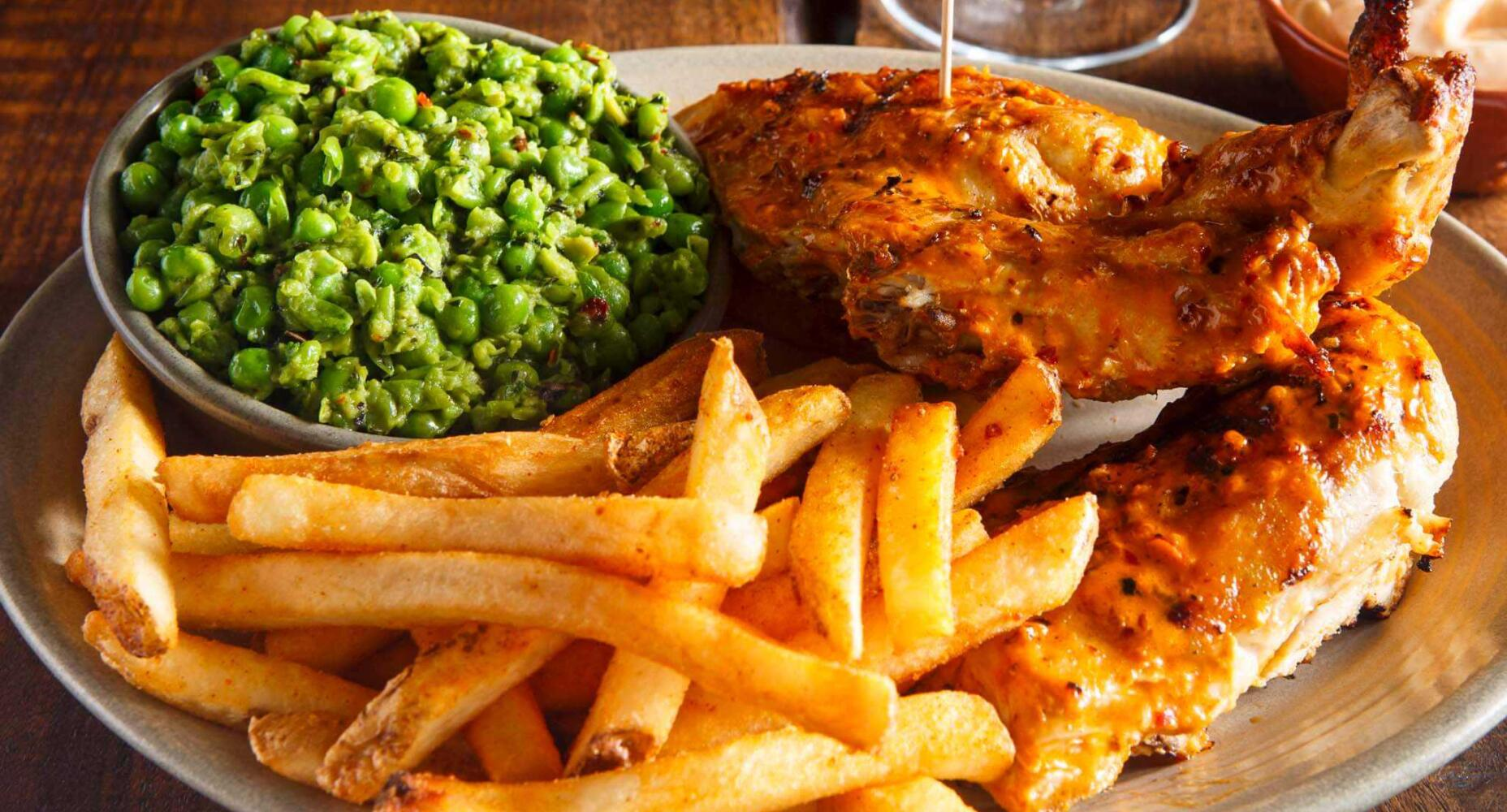 PW Living September 2015 Nandos Chicken with Sides