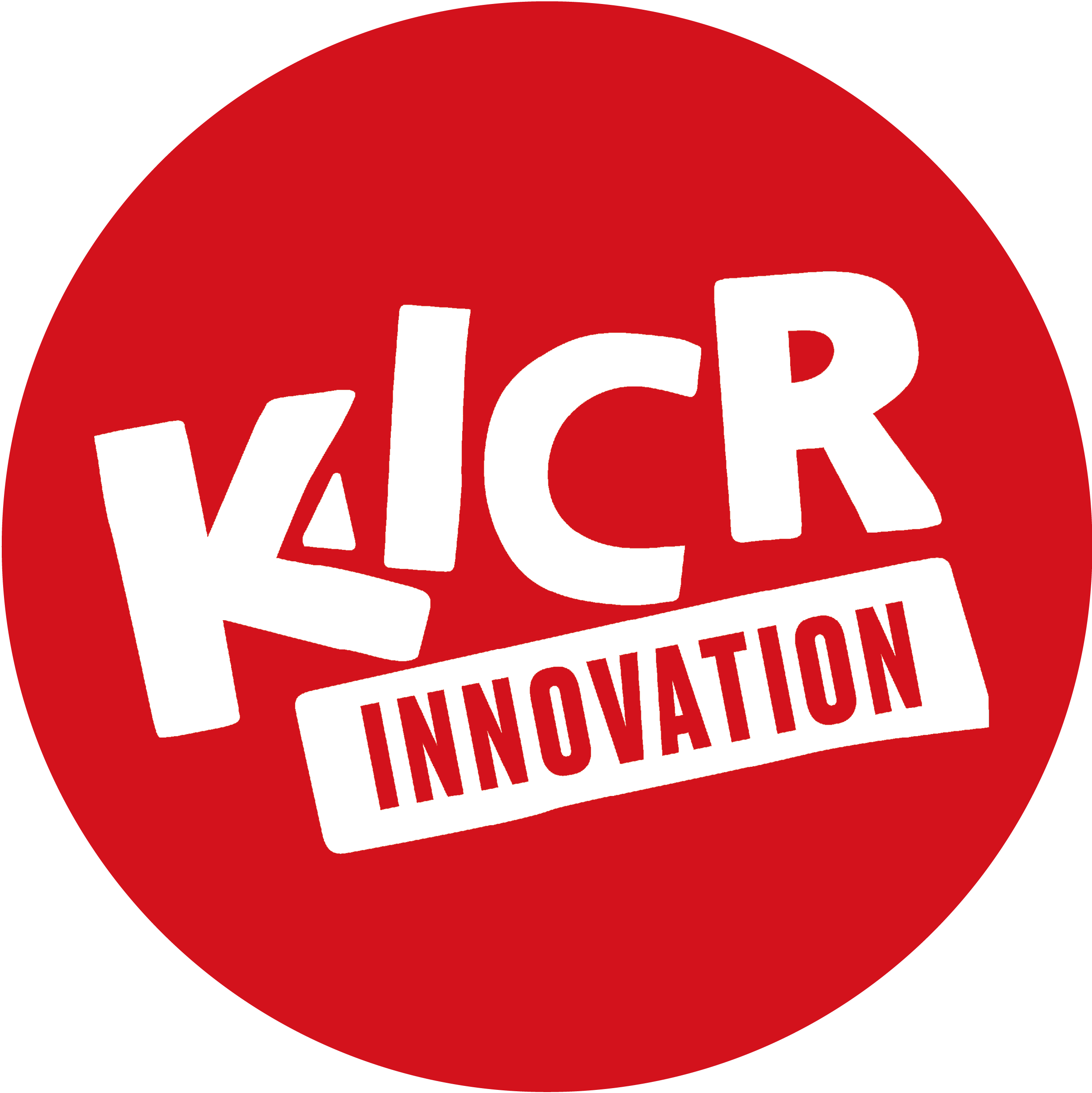 KICR LOGO Final white in red circle 1